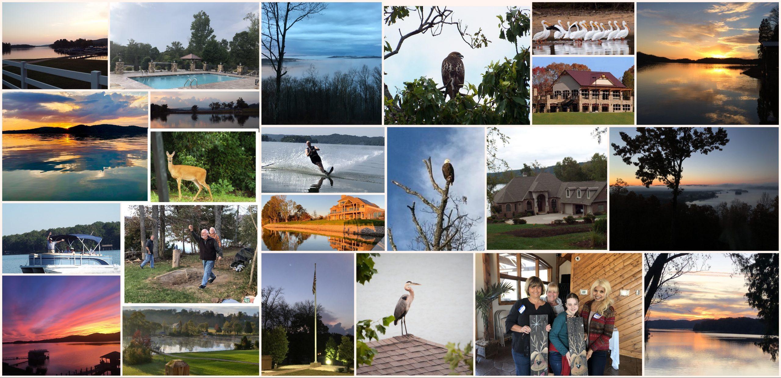 Collage of scenes at Grande Vista Bay