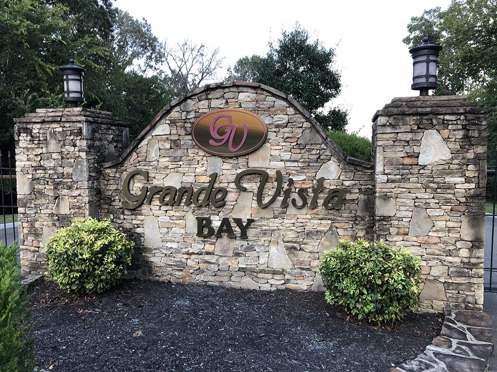Front Gate and sign at Grande Vista Bay