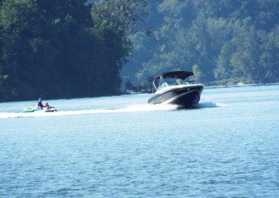 Boat and Tubing on WBL