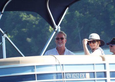 Boaters on Watts Bar Lake