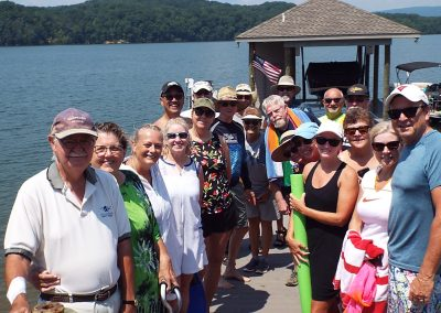 Lake life group shot at GVB