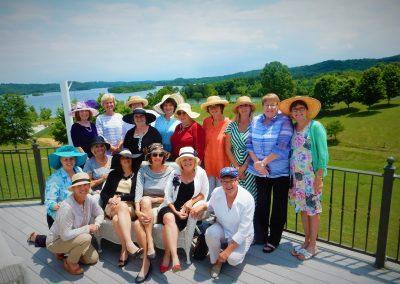 Ladies in hats-Grande Vista Bay