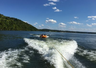 Tubing on WBL - Grande Vista Bay