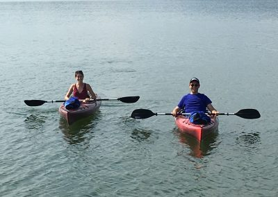 Couple Kayaking at Grande Vista Bay