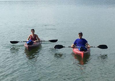 Couple Kayaking at Grande Vista Bay
