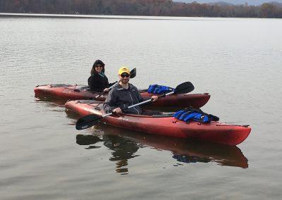 Kayaking in Grande Vista Bay
