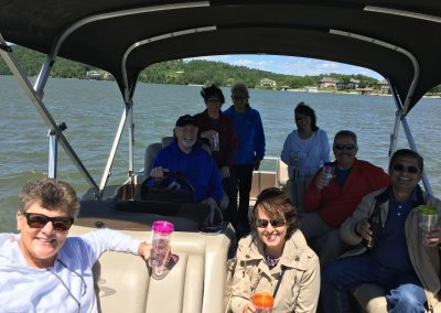 Boating with GVB friends on WBL