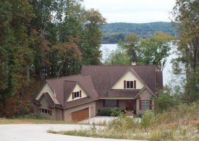 Lake level brick ranch home at GVB