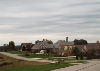 GVB neighborhood with overcast sky