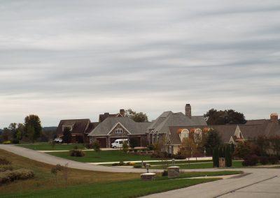 GVB neighborhood with overcast sky