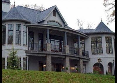 Two story stucco home at GVB