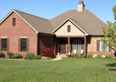 Red brick ranch home at GVB