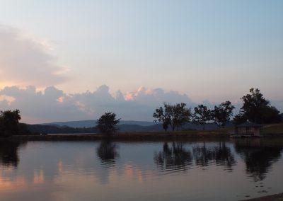 Morning light in the cove at Grande Vista Bay