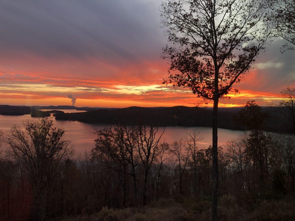 Sunset on Grande Vista Bay